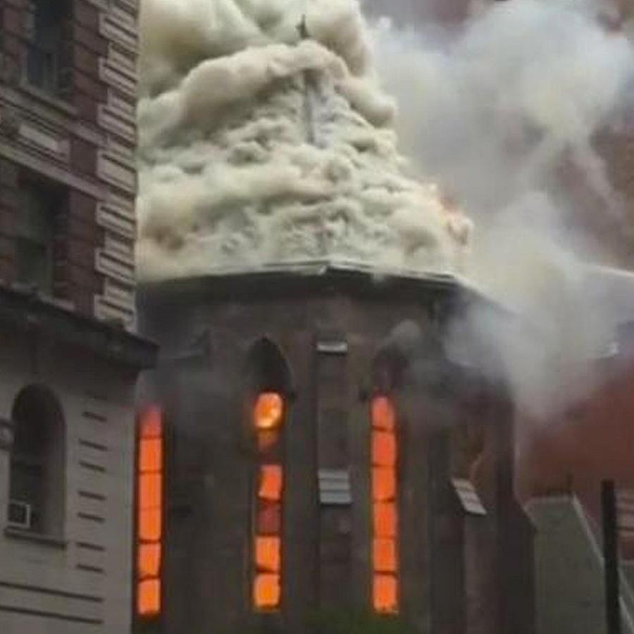 incendio consume templo