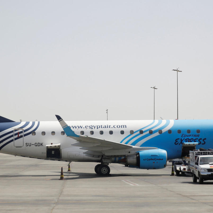 avion de egyptair