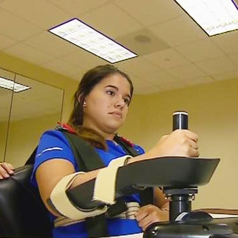 robot ayuda a pacientes