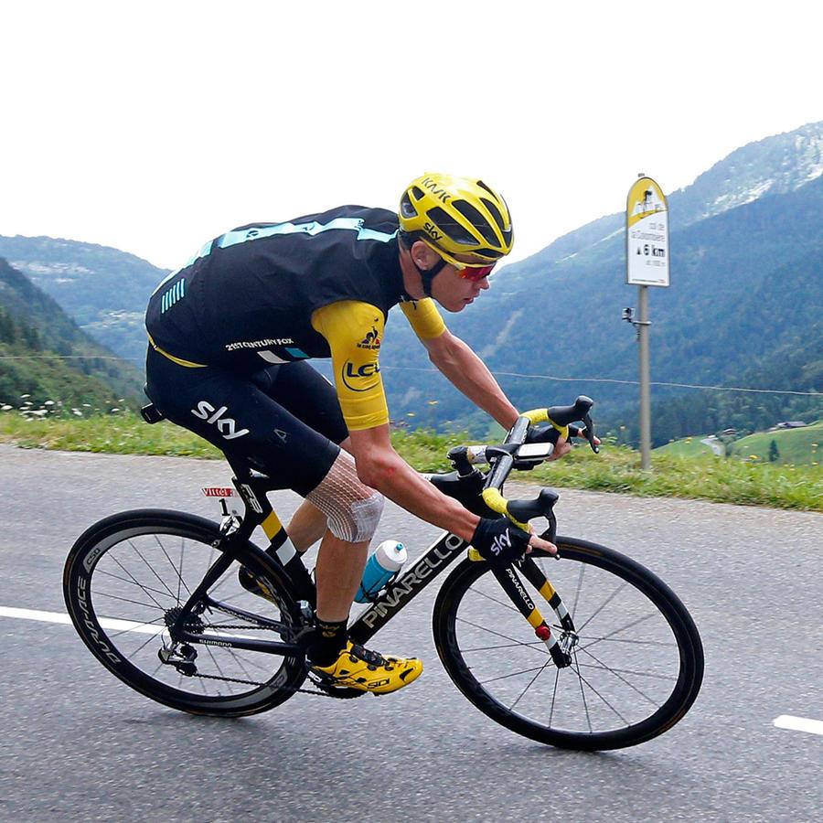Chris Froome asegura su victoria en Tour de France