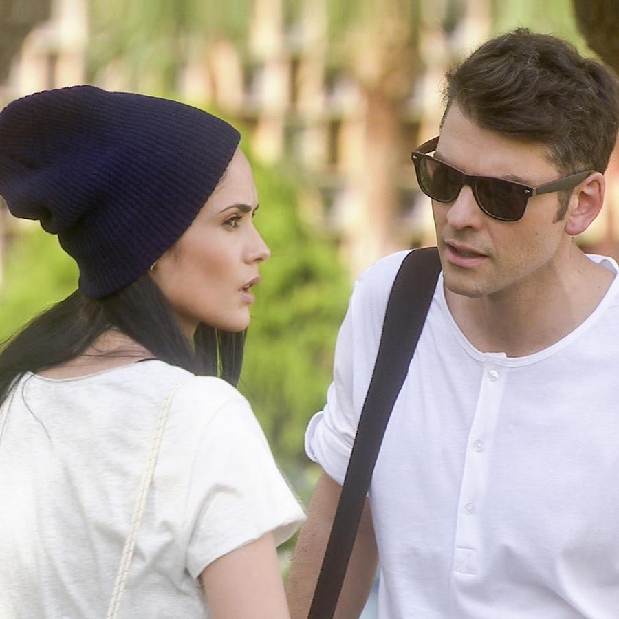 Vince Miranda y Alexandra Pomales en Silvana Sin Lana