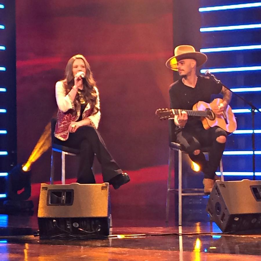 """Jesse & Joy interpretan su sencillo """"Ecos de Amor"""" en """"¡Qué Noche!"""""""