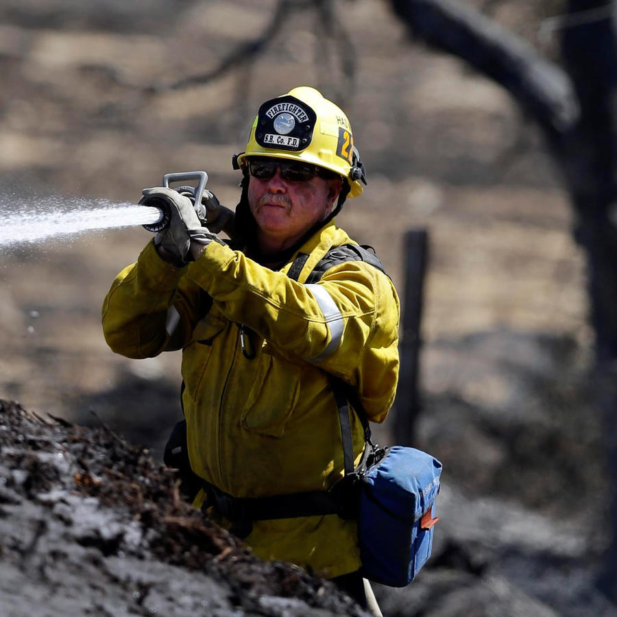 avances en incendio de california
