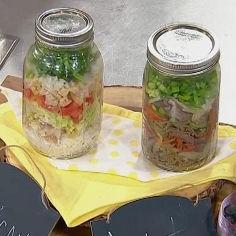 Recetas de cocina: Cómo hacer Almuerzos en Frascos