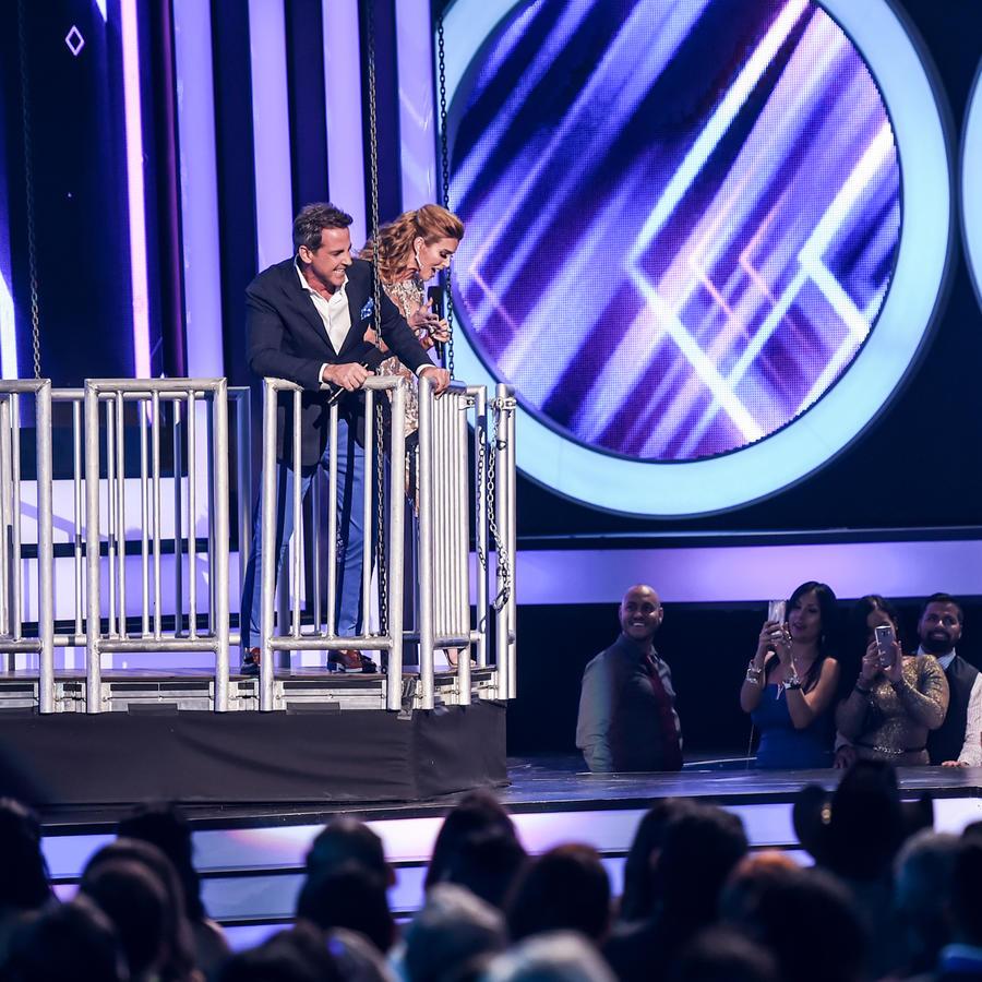 Carlos Ponce, Maritza Rodriguez y Ana Maria Polo en Premios Tu Mundo 2016