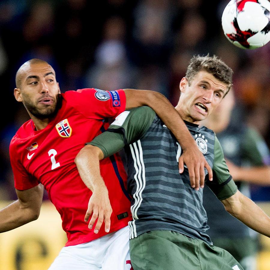 Alemania vence a Noruega en eliminatorias