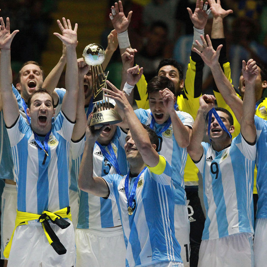 Argentina campeón mundial de futbol sala