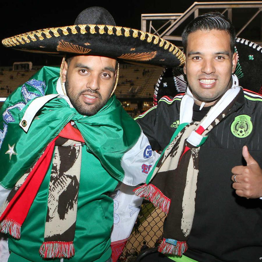México celebra victoria