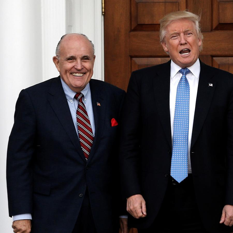 Trump y Giuliani