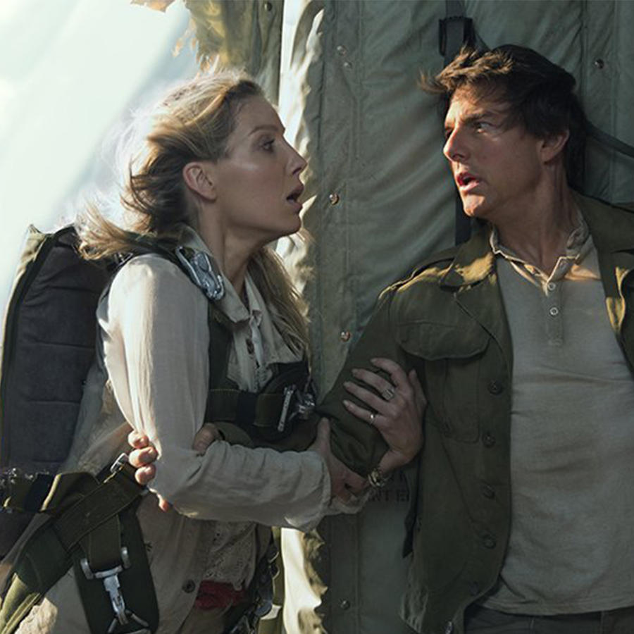 "Tom Cruise en ""The Mummy"""