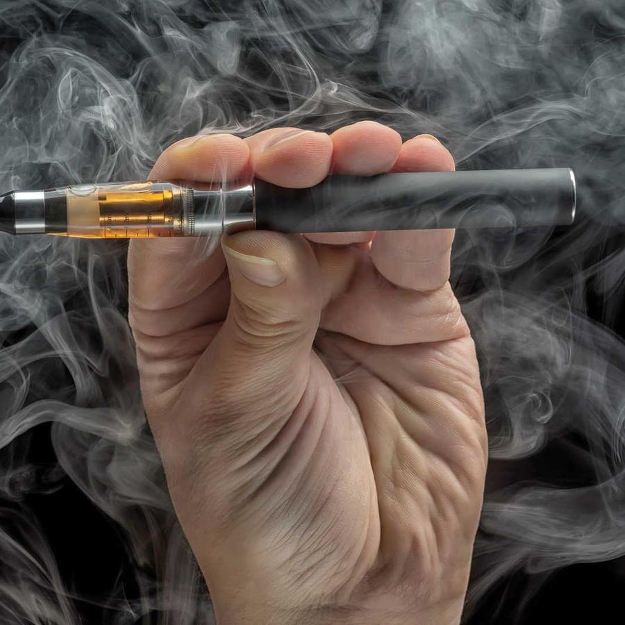 Imagen de archivo de un cigarillo electrónico.