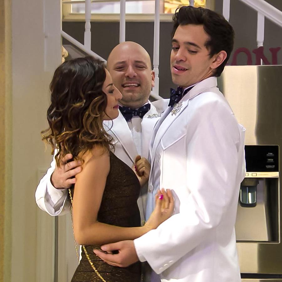 Stella, Poncho y Dominique en Silvana Sin Lana