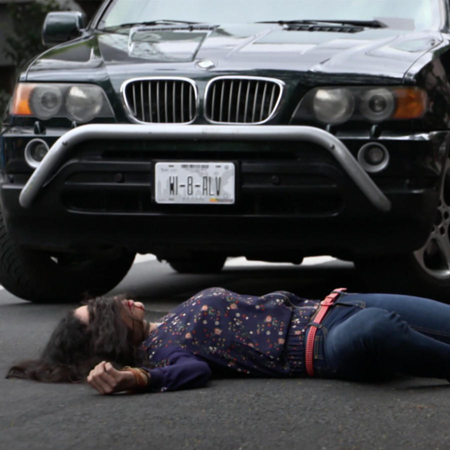 Momentos de novela, La Doña, Accidente
