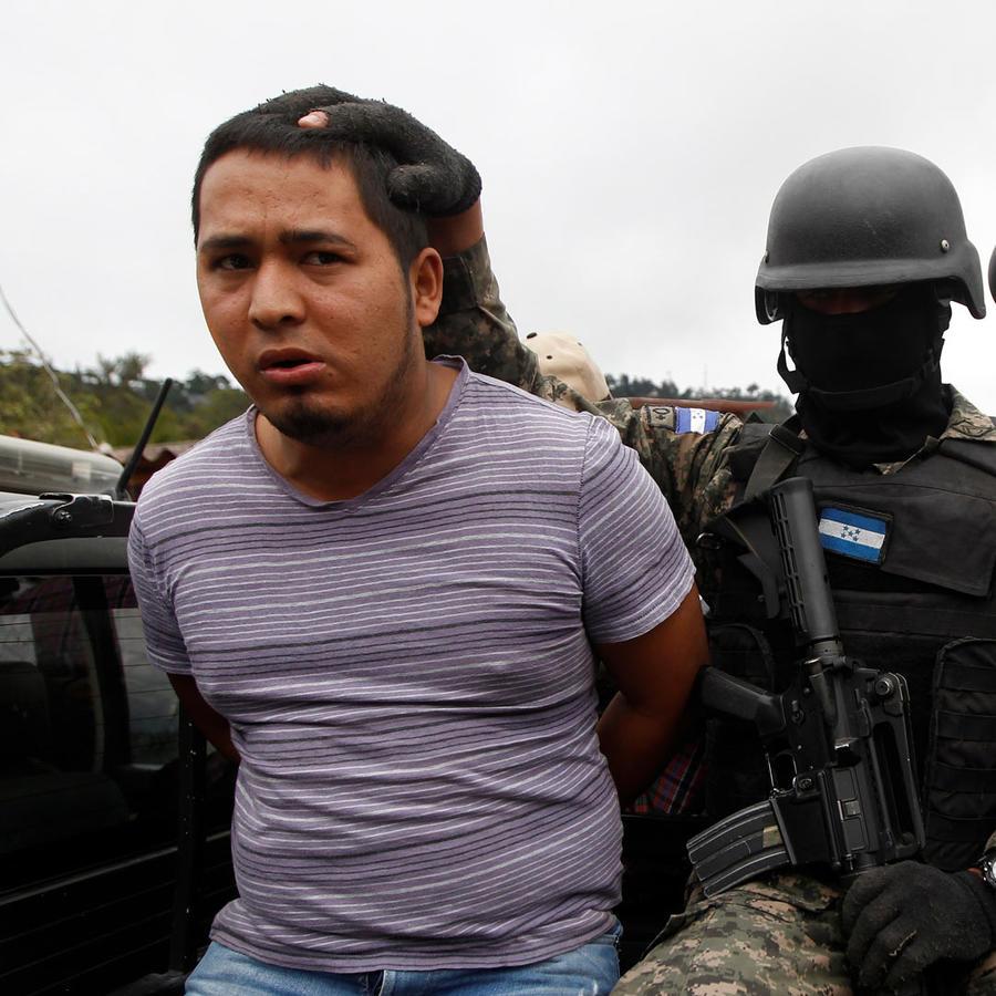 detenido en honduras