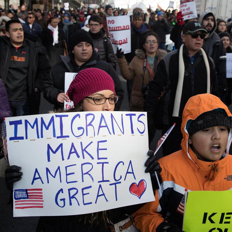 protestas un dia sin inmigrantes