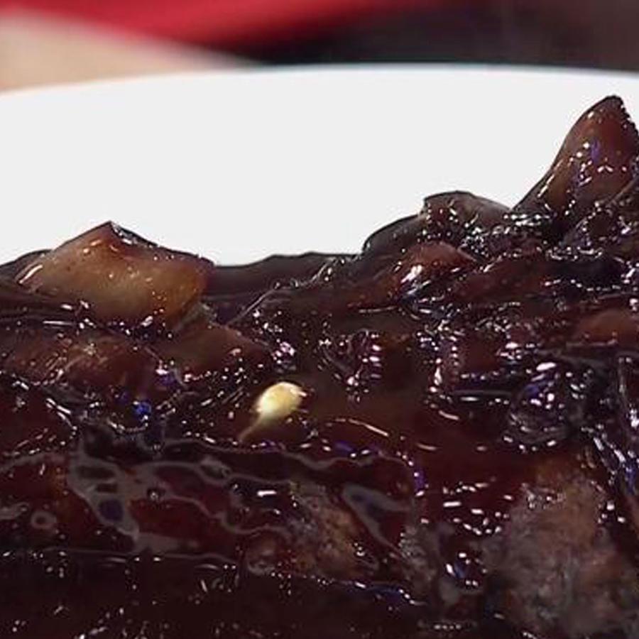 Recetas de cocina: Carne con Chalotes en Salsa de Vino