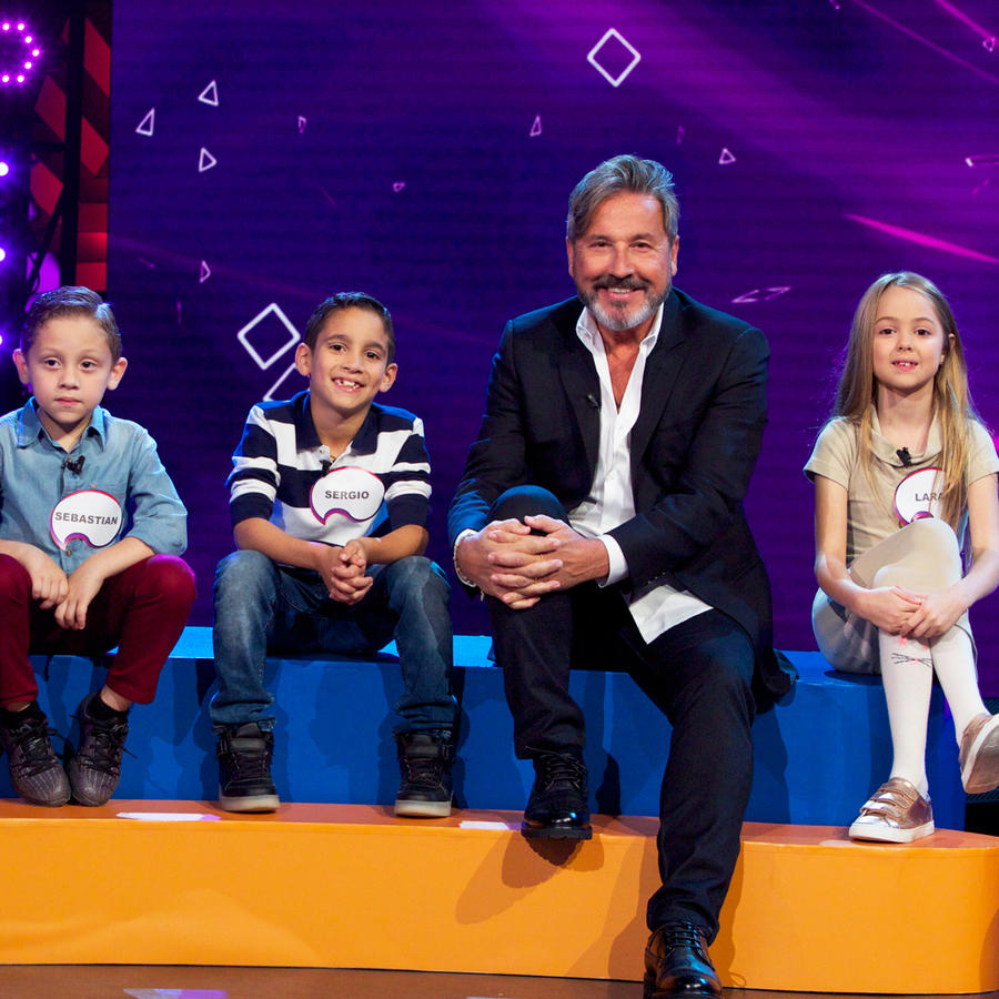 """Ricardo Montaner con los niños de """"Entre Niños"""" en Siempre Niños"""