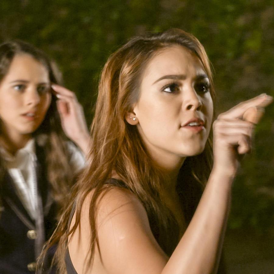 Danna Paola, Mario Morán y Michelle Olvera en La Doña