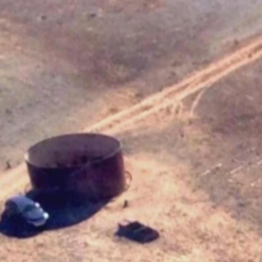 rescatan mujer varada desierto