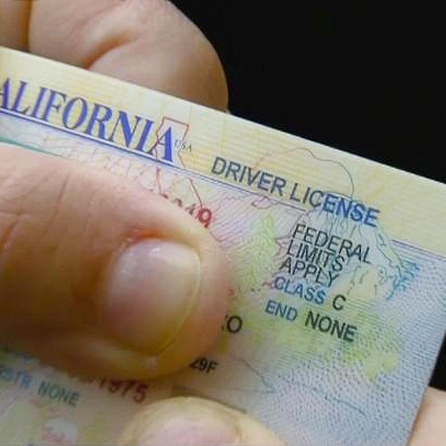licencia de conducir de california
