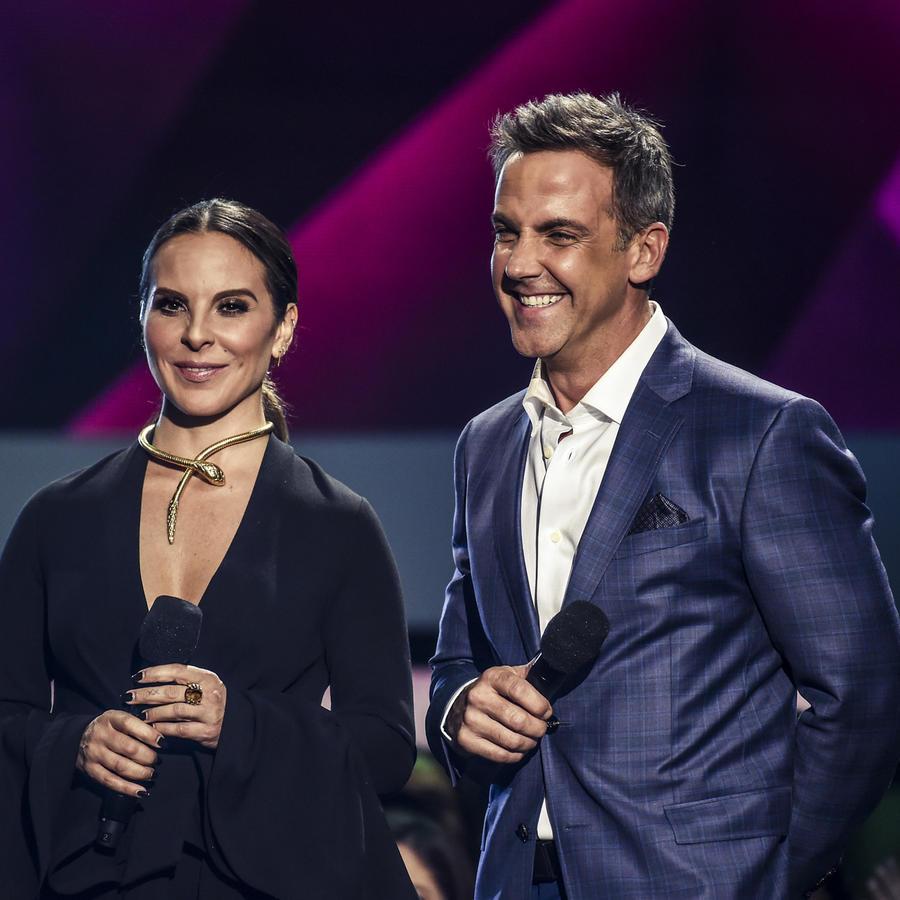 Kate del Castillo y Carlos Ponce en Premios Billboard 2017