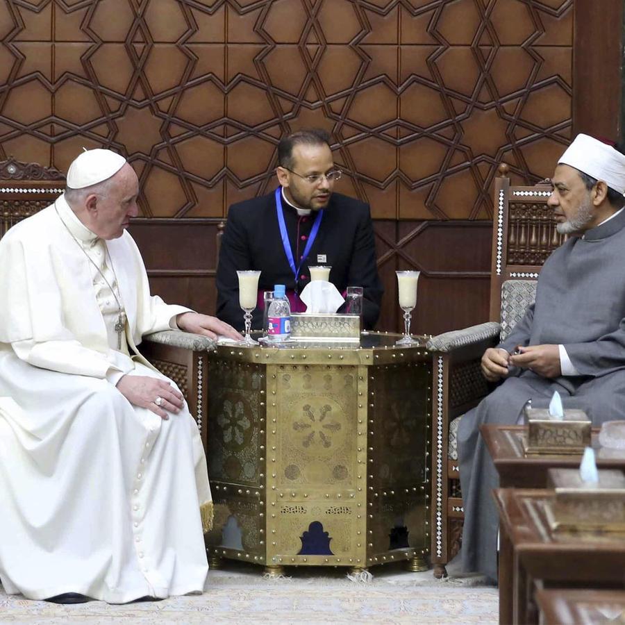 papa francisco en egipto