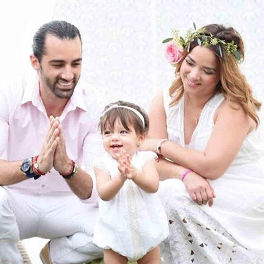 Adamari López, Toni Costa y Alaïa