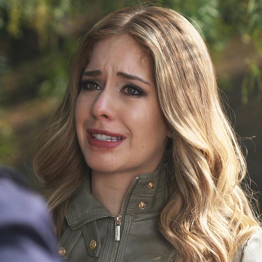 Carmen Aub, Rutila Casillas, llorando, El Señor de los Cielos
