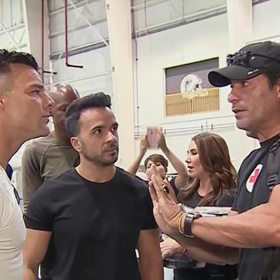 Luis Fonsi, Ricky Martin, Chayanne, Nicky Jam y viajan para llevar ayuda a Puerto Rico