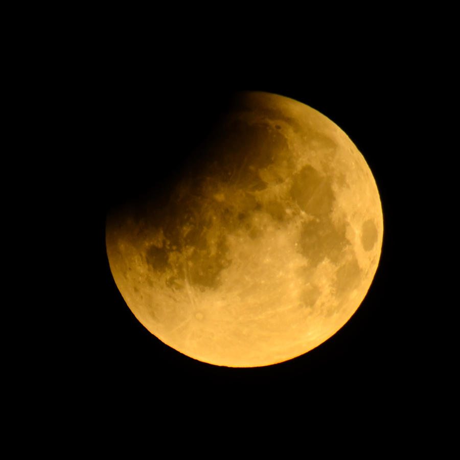 Eclipse total de luna en enero