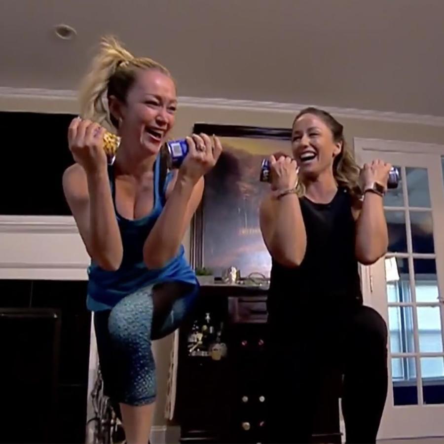Mira cómo puedes bajar de peso y hacer ejercicio sin salir de la comodidad de tu casa