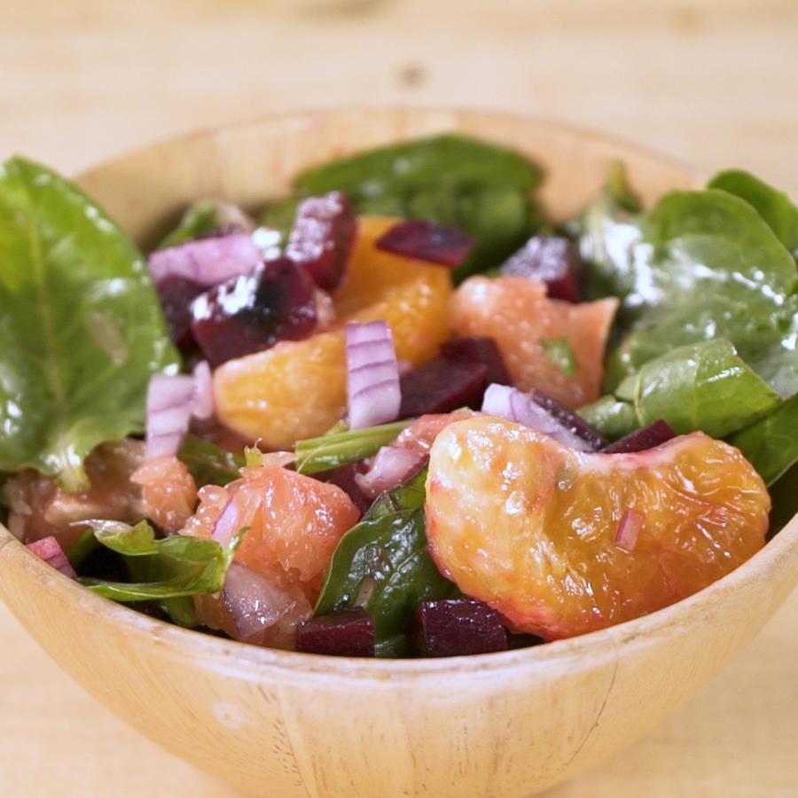Receta: ensalada de remolacha y cítricos