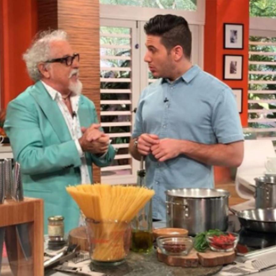 Receta de cocina: Ennio Carota, juez de Masterchef Latino, nos enseña cómo cocinar pasta