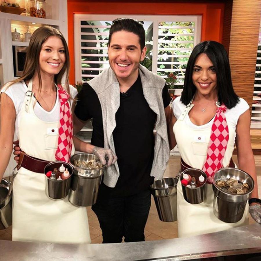 El chef James nos muestra cómo abrir ostras como todo un profesional