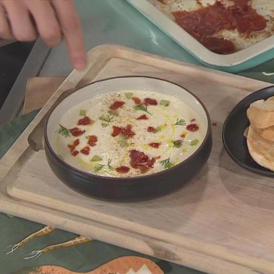 Recetas de cocina: Cómo hacer una deliciosa Crema de Ajo Blanco
