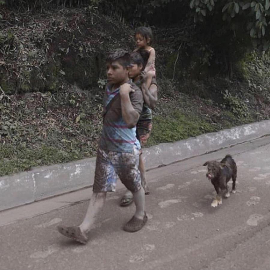 La comunidad guatemalteca está recolectando ayuda para las víctimas del Volcán de Fuego