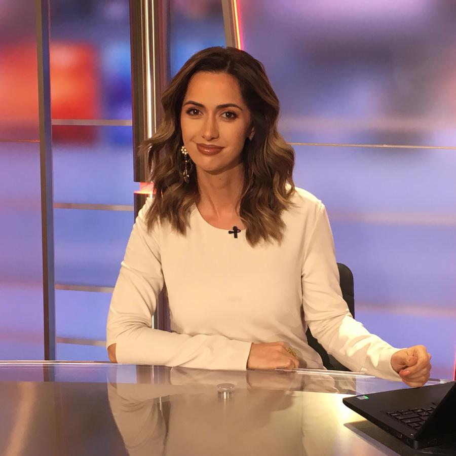 Paulina Sodi, presentadora de noticias de Un Nuevo Día
