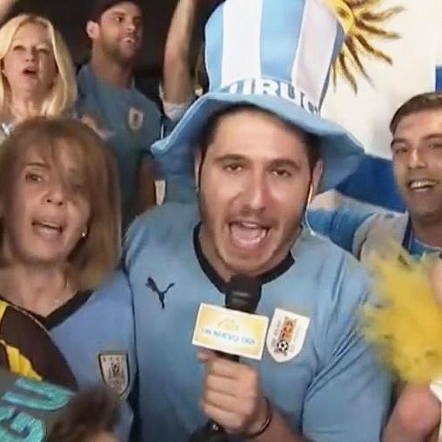 uruguayos festejan