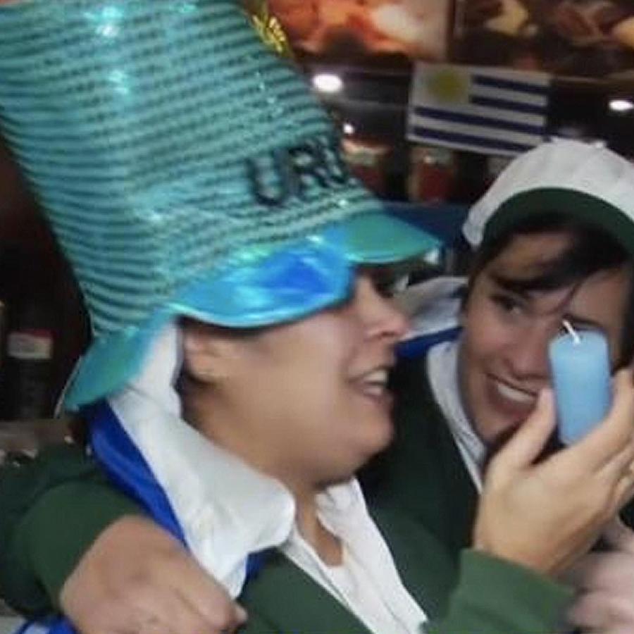 fanaticos uruguayos