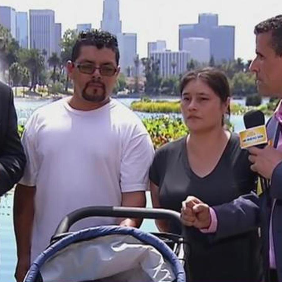 Padres inmigrantes con hijo discapacitado