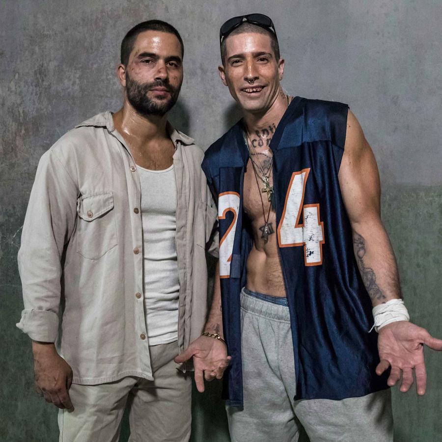 Ignacio Serricchio y David Chocarro en El Recluso
