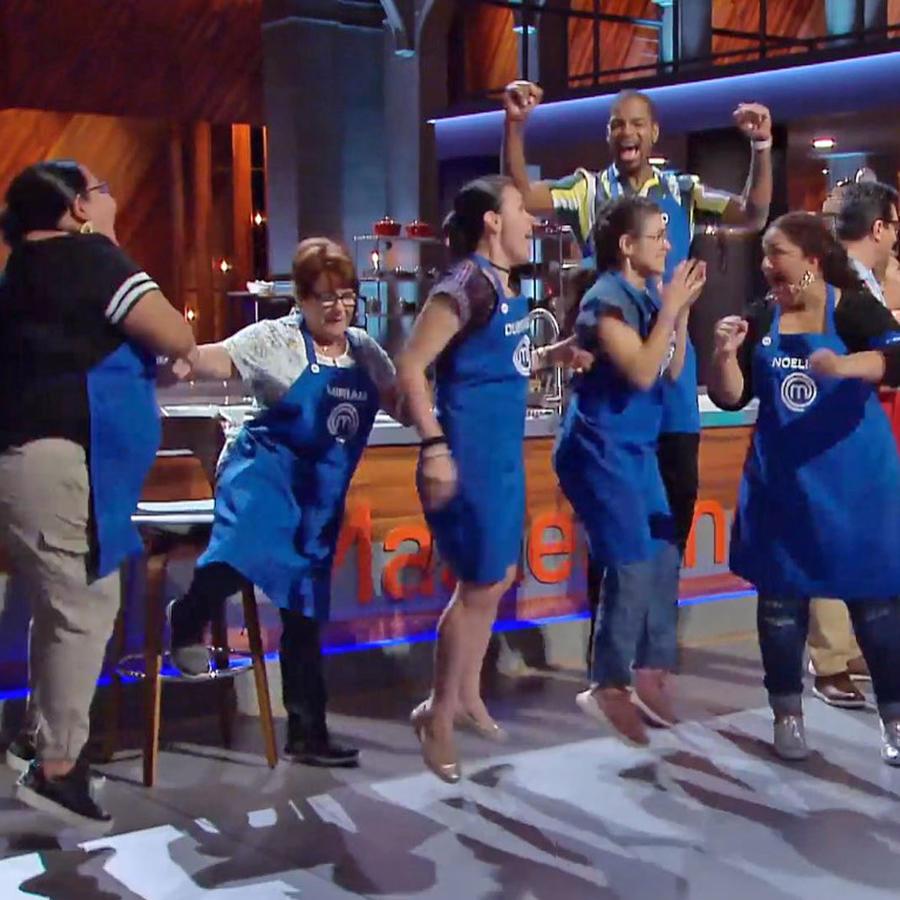 El equipo azul se quedó con la victoria