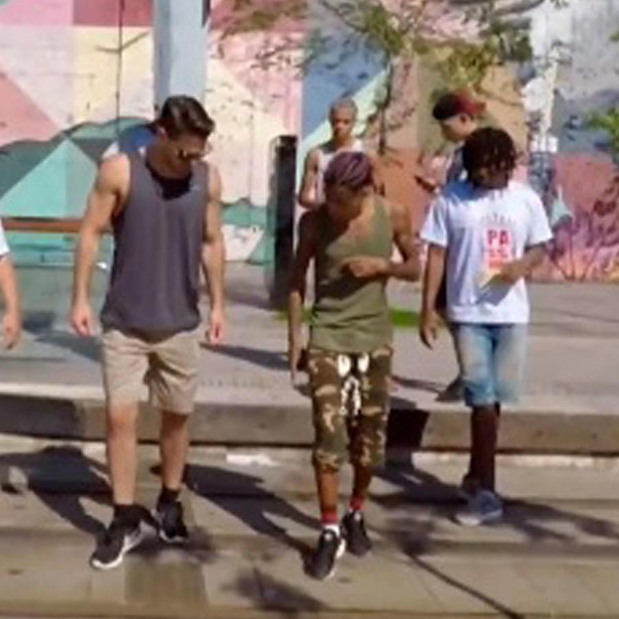 """""""O Pasinho"""", ritmo de Brasil"""