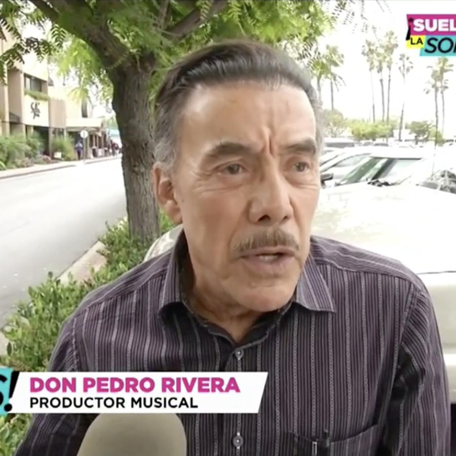 Don Pedro Rivera dijo no conocer a Belinda (VIDEO)