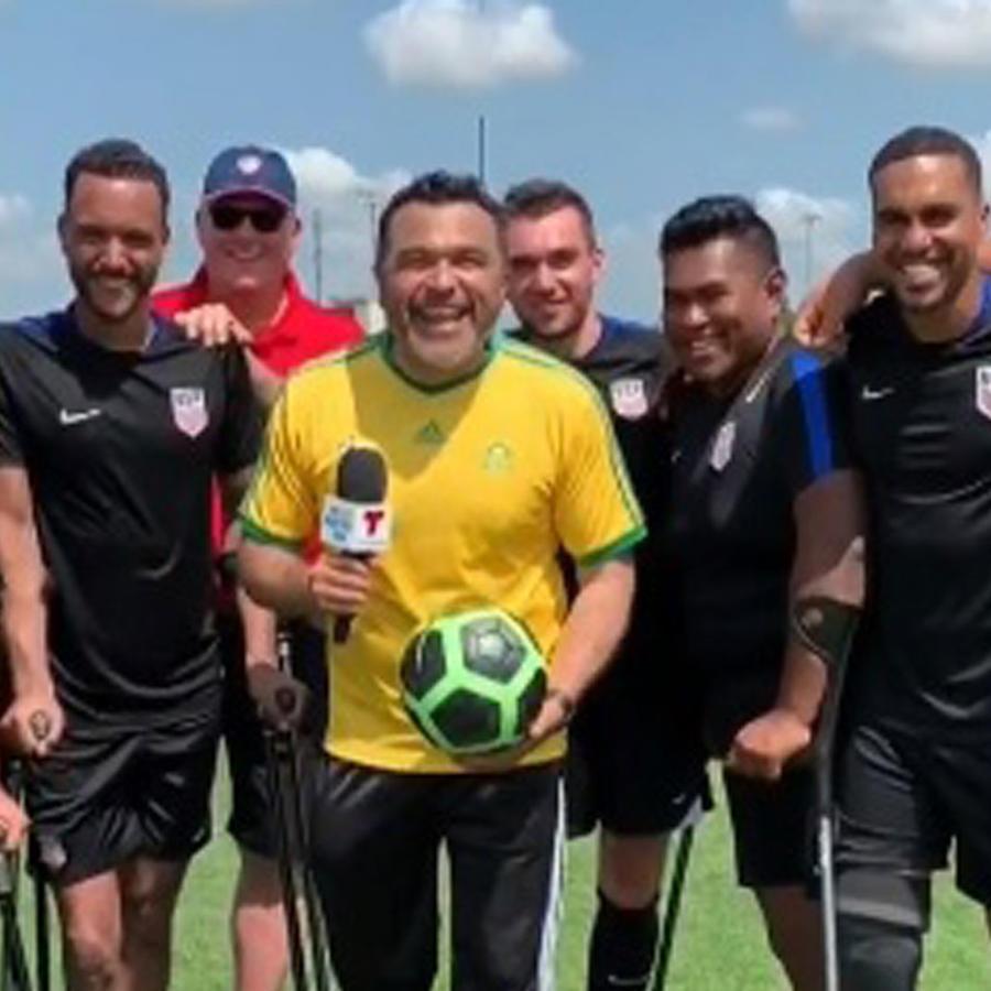 Selección de futbolistas discapacitados de EEUU
