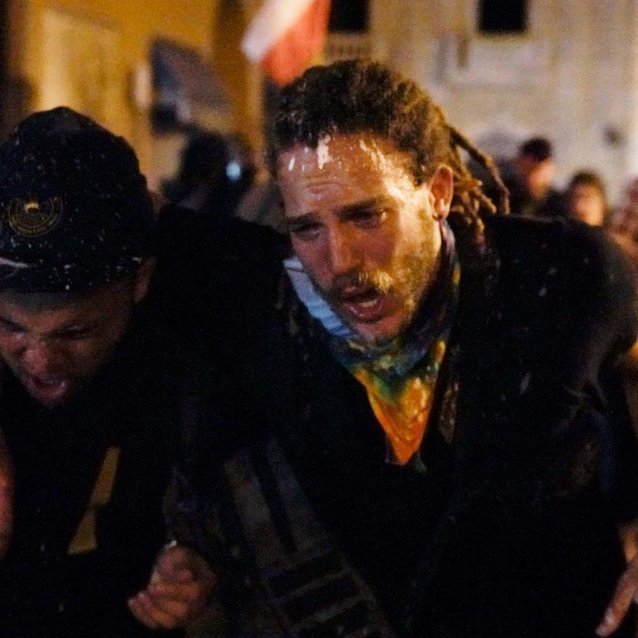 Puerto Rico violencia durante manifestación
