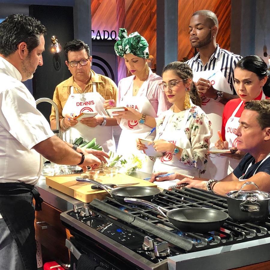 Masterclass del Chef Nelson Fernández en MasterChef Latino 2