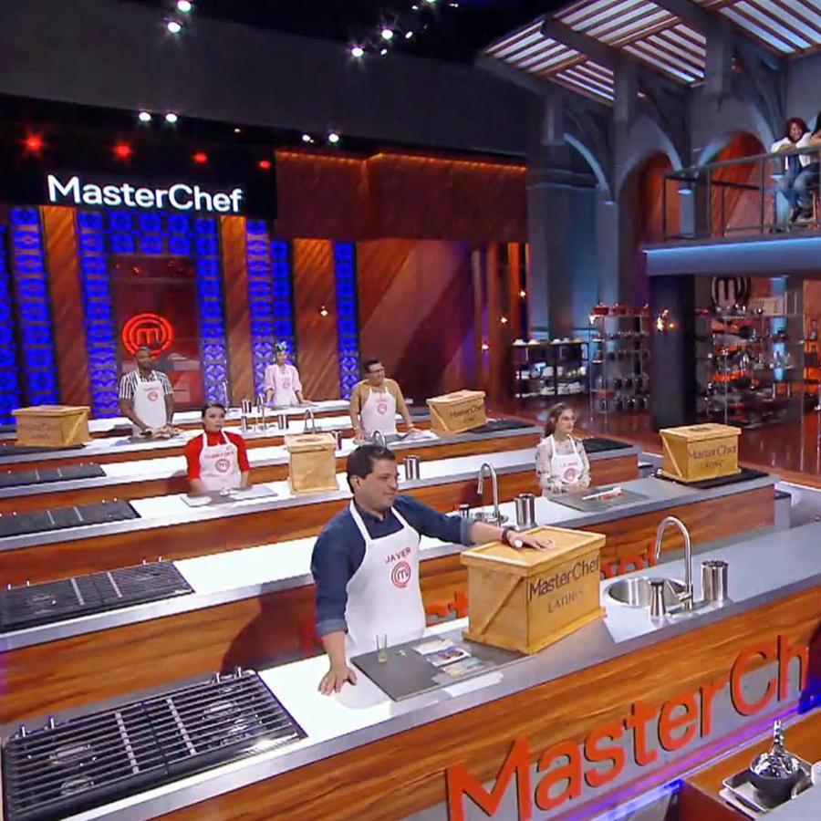 Reto de familiares en MasterChef Latino 2