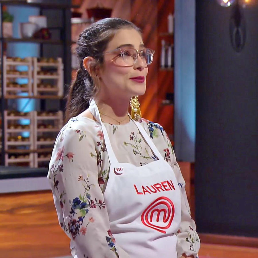 Lauren Arboleda en MasterChef Latino 2
