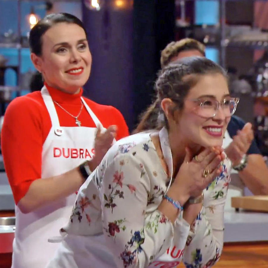Lauren Arboleda gana el reto del Chef Nelson Fernández en MasterChef Latino 2